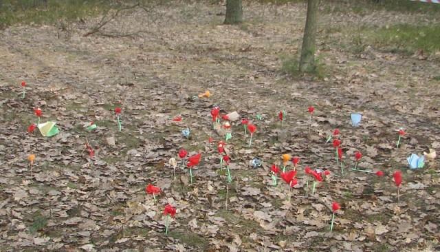 Łąka kwiatków dla pani wiosny