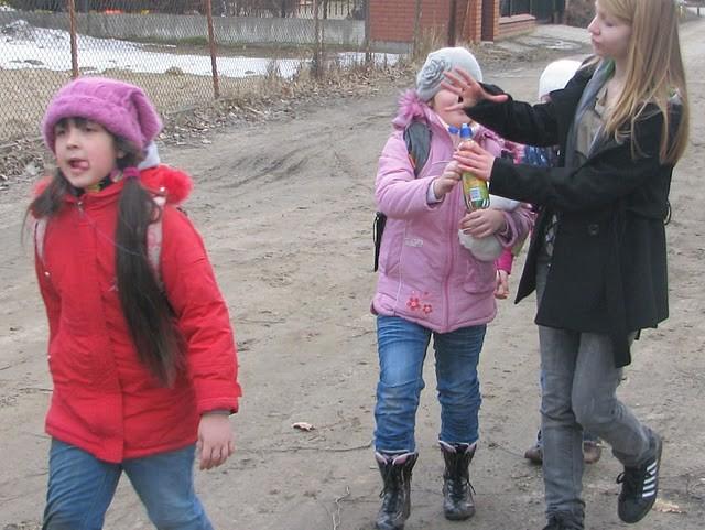 Nina, Gabrysia i dh Karolina